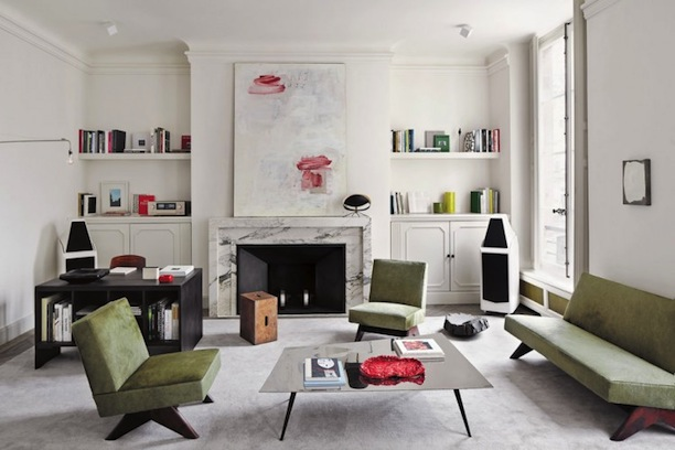 Joseph Dirand's elegantly spare Paris apartment