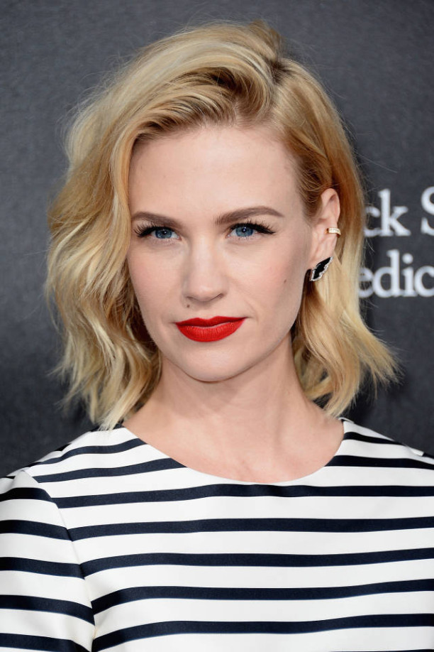 January Jones // Long bob