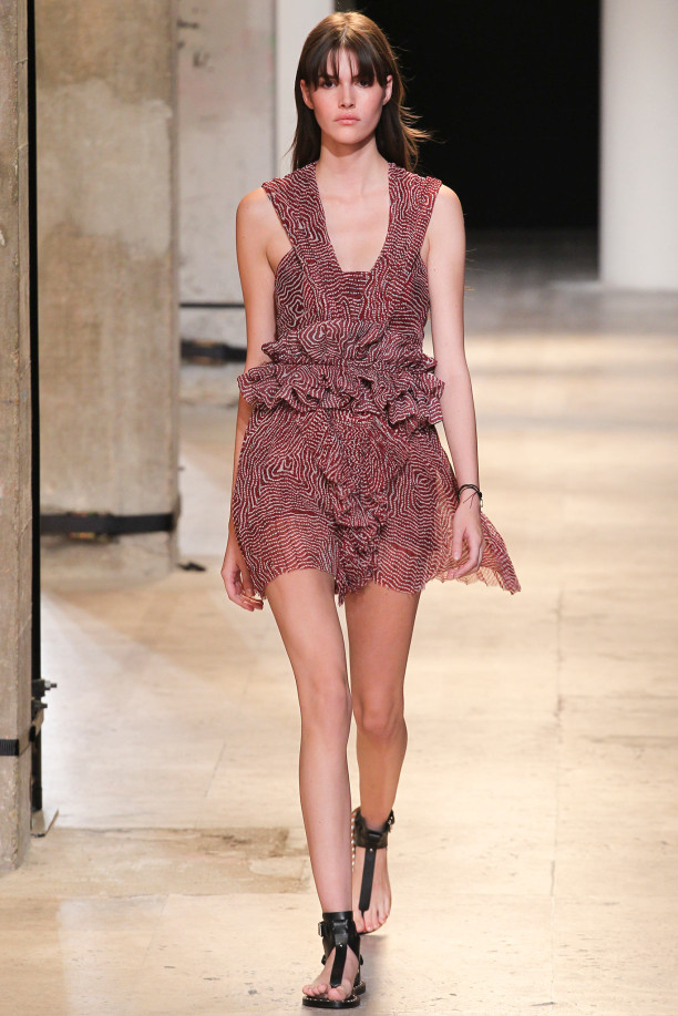 Isabel Marant Spring 2015 Ready-to-Wear