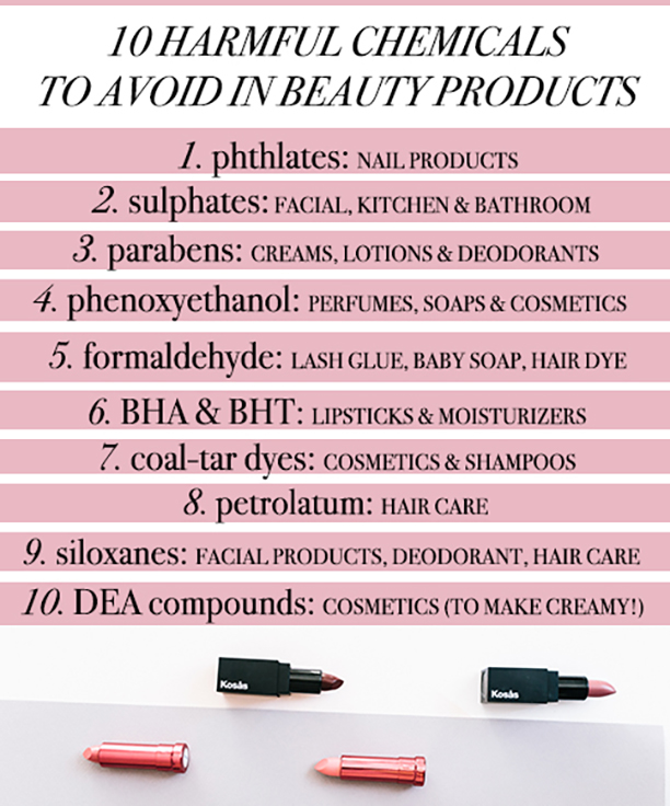 10 Toxic Cosmetic Ingredients To Ditch NOW | because im addicted