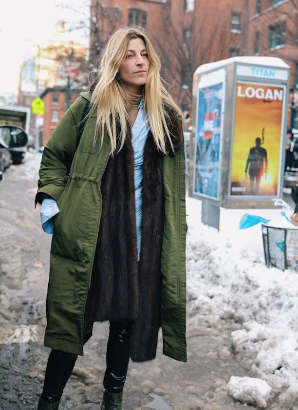 The Best Street Style Snaps From NYFW