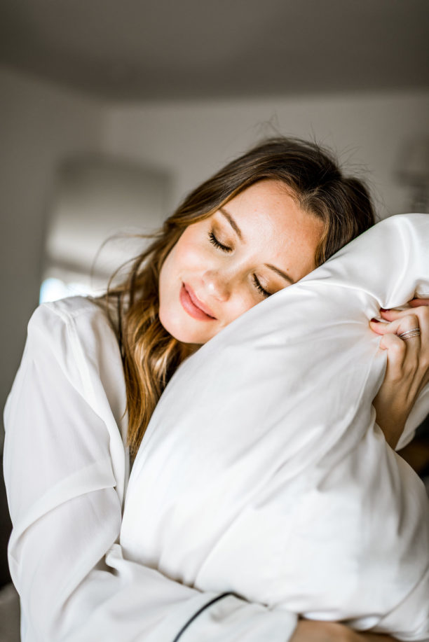 weekly wellness challenge: silk pillow case